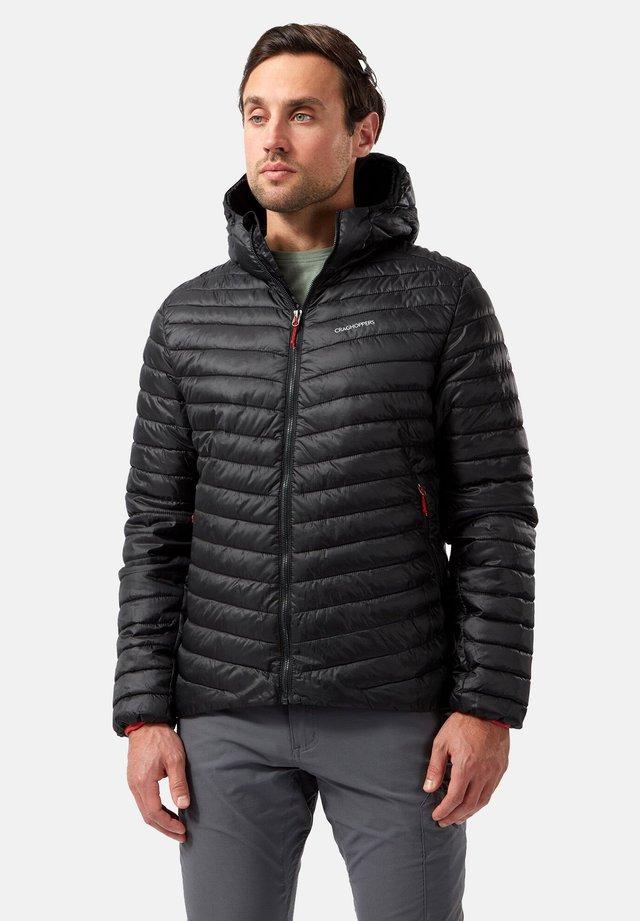 EXPOLITE - Outdoor jacket - black