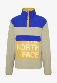 The North Face - GRAPHIC COLLECTION ZIP - Sweatshirt - twill beige/blue/flame orange - 4