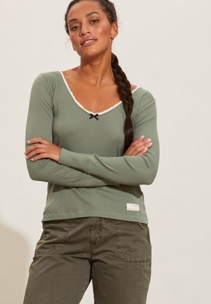 EMMIE - Long sleeved top - cargo green