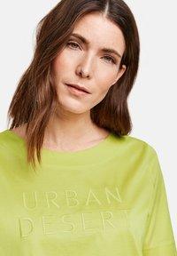 Gerry Weber - Print T-shirt - lime - 2