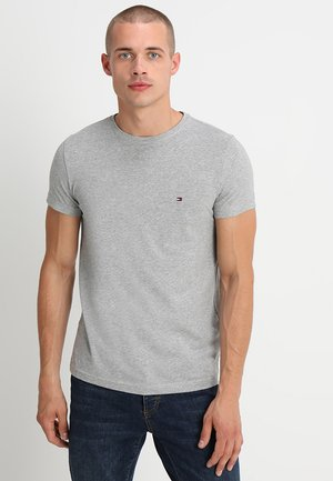 NEW STRETCH TEE C-NECK - T-shirt basic - cloud heather