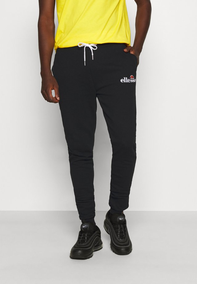 NIORO - Tracksuit bottoms - black
