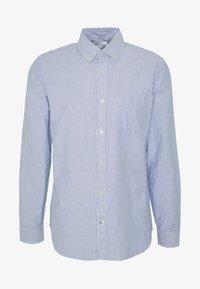 V-OXFORD BASICS SLIM FIT - Shirt - blue
