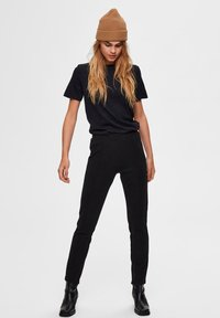 Selected Femme - Trousers - black - 0
