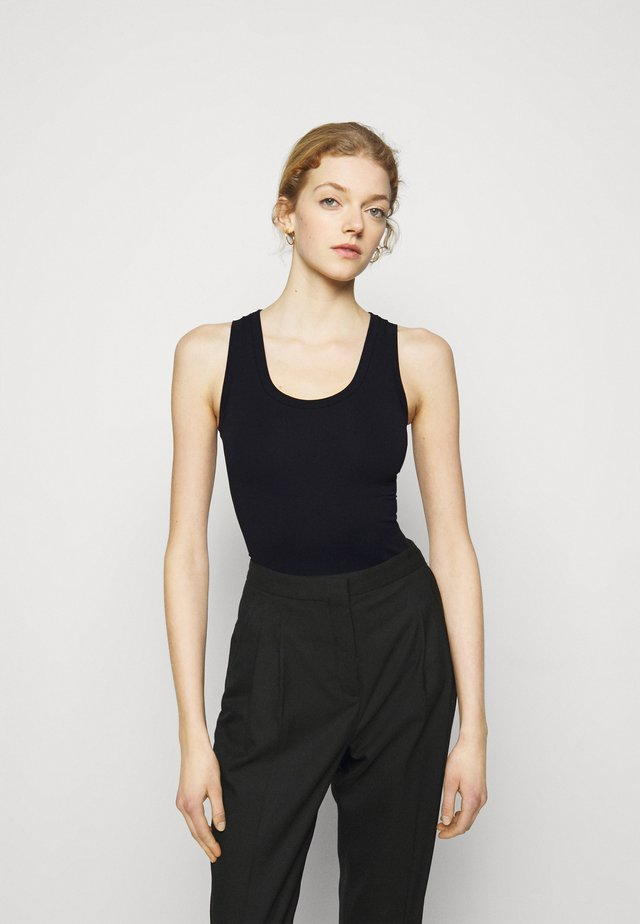 TUBULAR TANK - Top - black