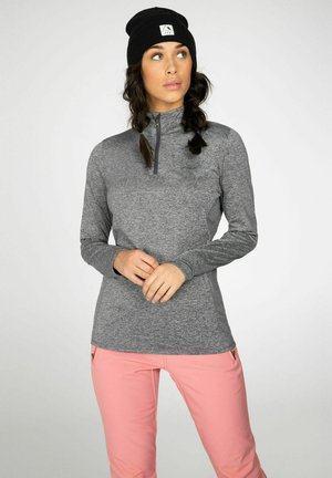 FABRIZM  - Fleece jumper - dark grey melee