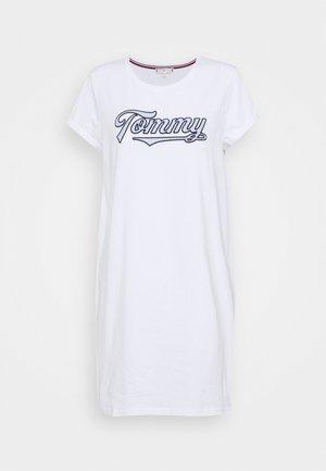 SEERSUCKER DRESS - Nightie - white