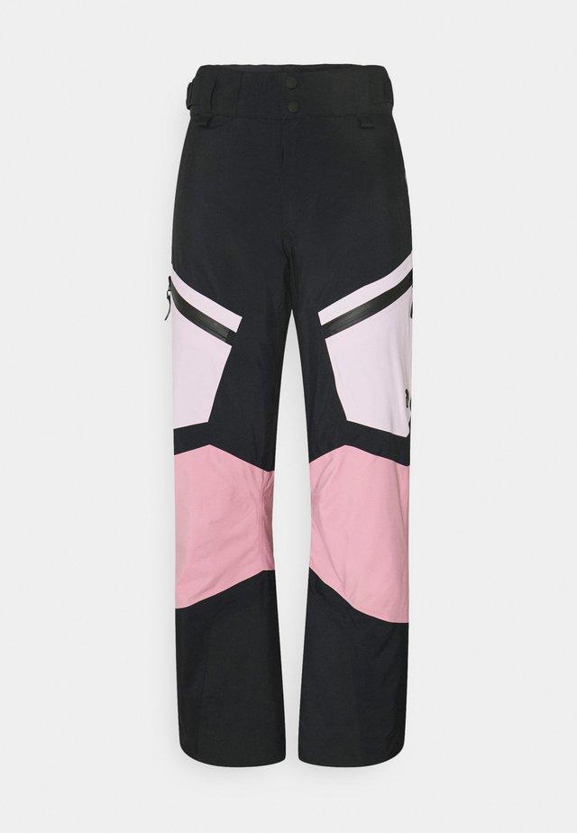 GRAVITY PANTS - Zimní kalhoty - cold blush