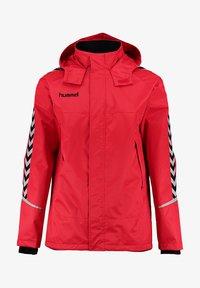 Hummel - Outdoor jacket - true red/black - 0