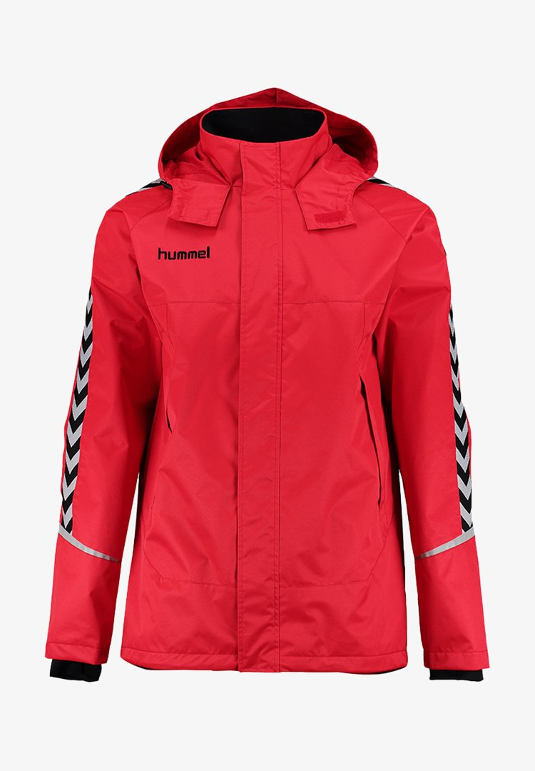 Hummel - Outdoor jacket - true red/black