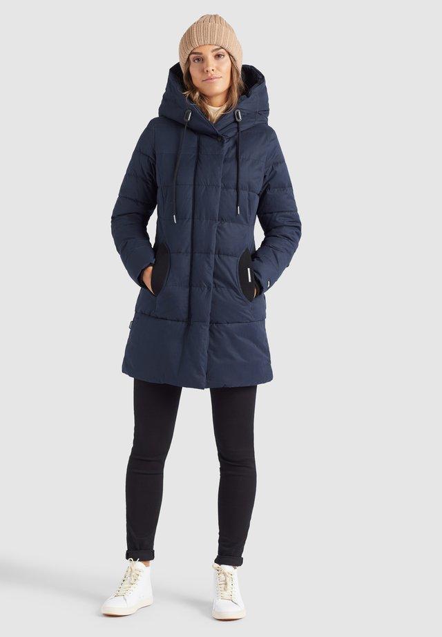 SHERMA - Winter coat - dunkelblau