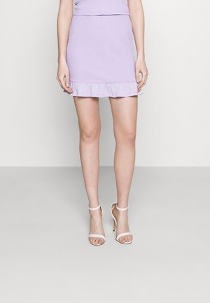 VIHAGEN SHORT FESTIVAL SKIRT - Mini skirt - lavender