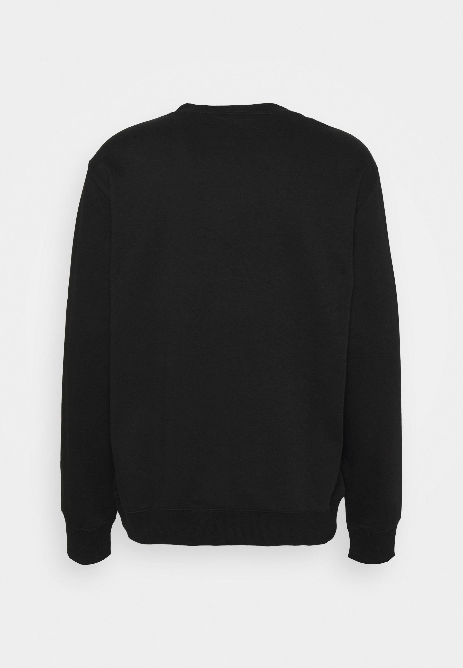 Weekday Standard Printed - Sweatshirt Black/svart