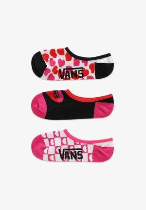 WM LOLA HEARTS CANOODLES (6.5-10, 3PK) - Socks - white