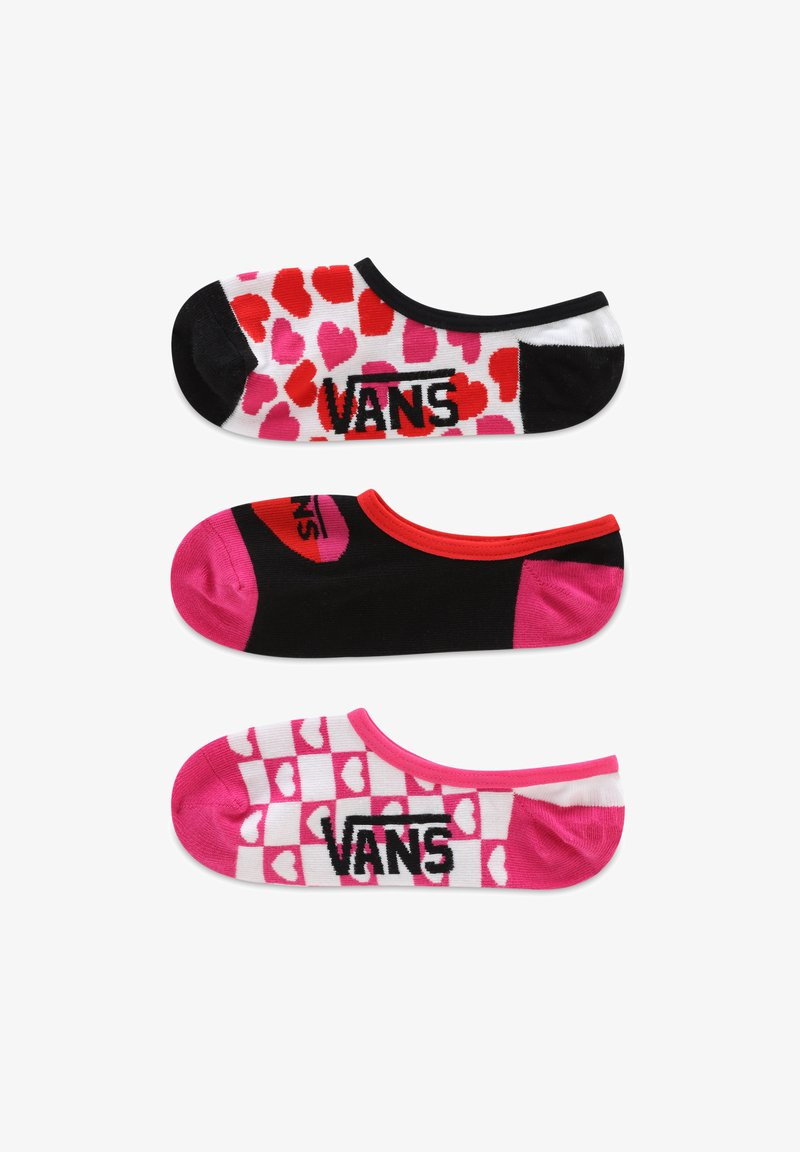 Vans - WM LOLA HEARTS CANOODLES (6.5-10, 3PK) - Socks - white