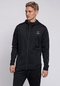 Hummel - ASTON - Zip-up sweatshirt - black - 0