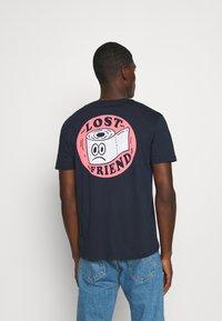 YOURTURN - UNISEX - T-shirt med print - dark blue - 2