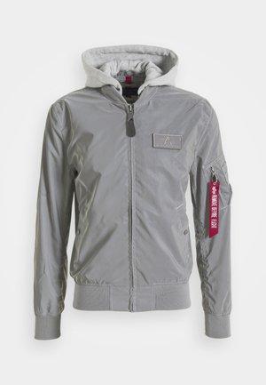 HOOD REFLECTIVE - Bomber Jacket - silver
