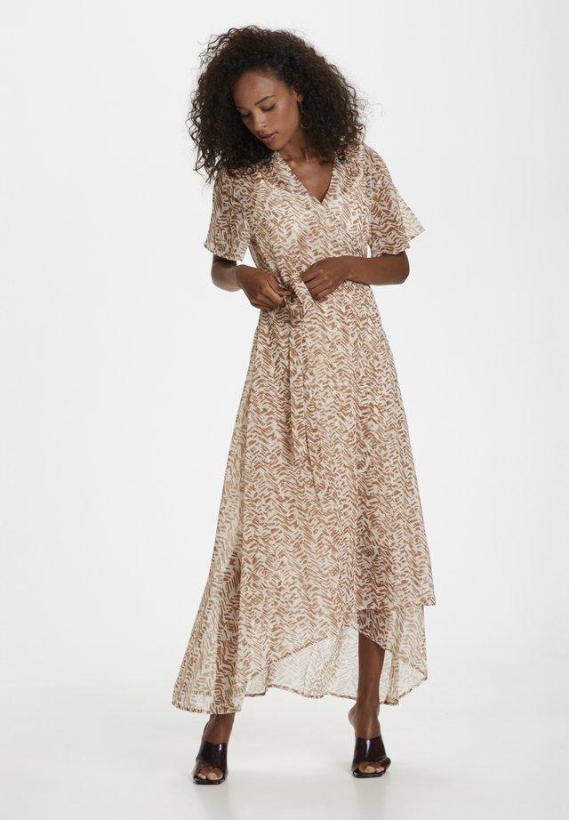 Korte jurk - brown sugar