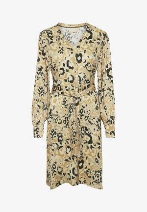 Robe d'été - leopard cinnamon