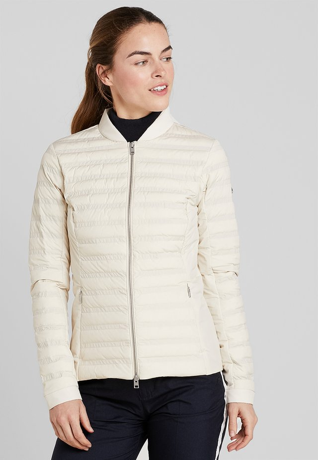 WOMEN BELLAVISTA JACKET - Down jacket - buttercream