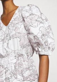 Bruuns Bazaar - POSY OLIVINE DRESS - Day dress - snow white - 4