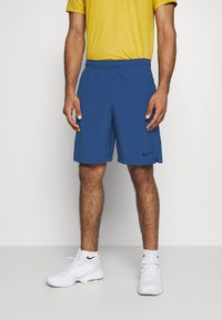 Nike Performance - FLEX SHORT - Pantalón corto de deporte - mystic navy/black - 0