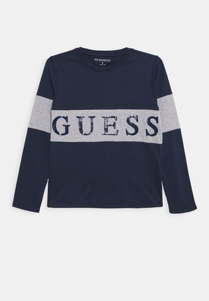 JUNIOR - Long sleeved top - deck blue