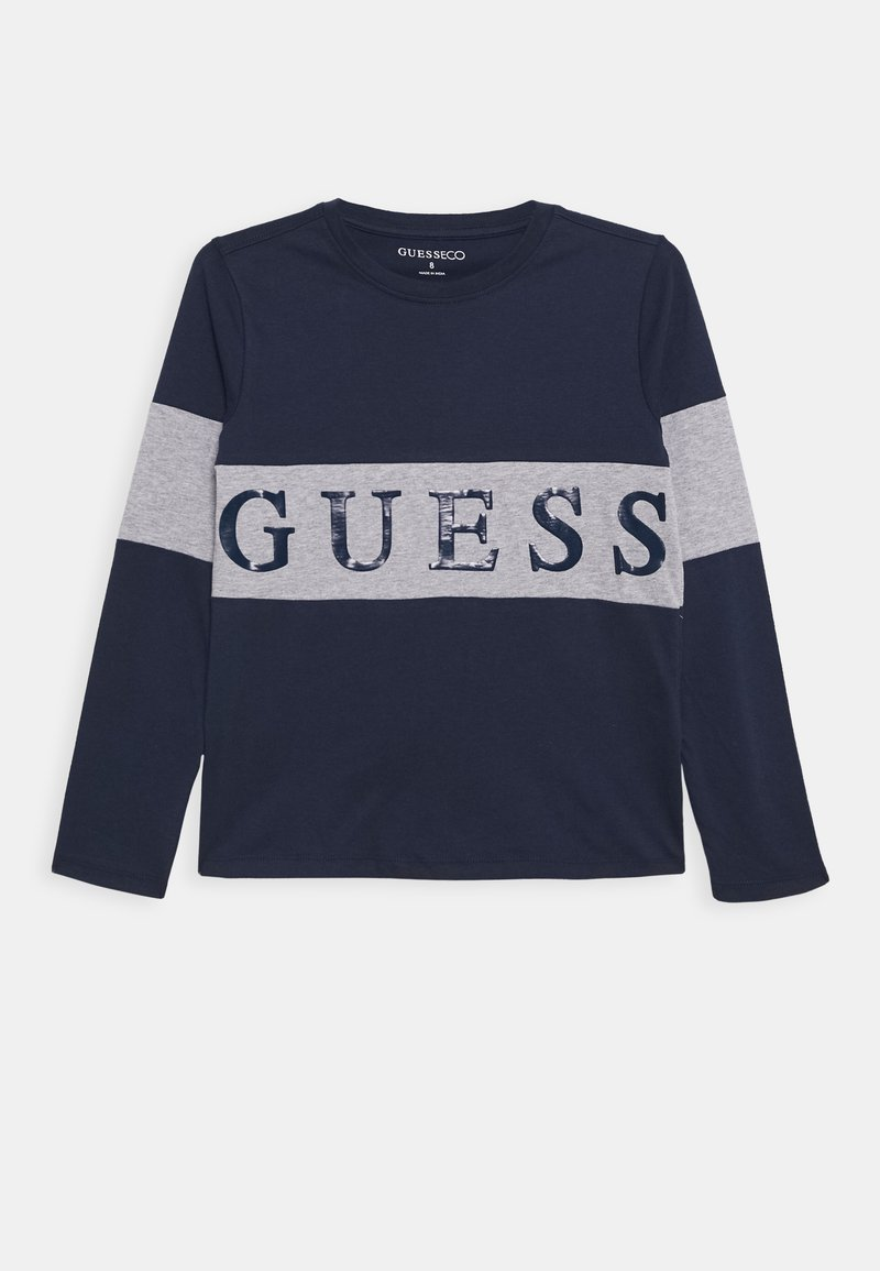 Guess - JUNIOR - Long sleeved top - deck blue