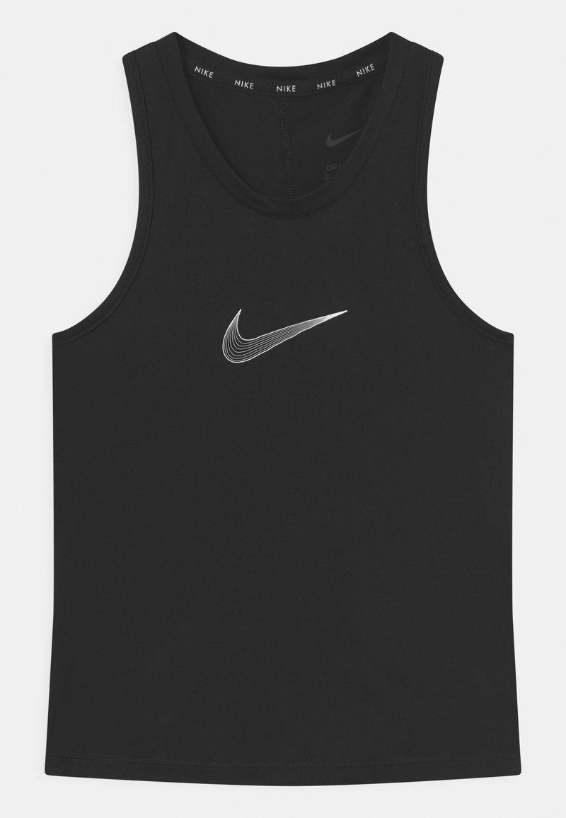 Nike Performance - ONE TANK - Koszulka sportowa - black/white