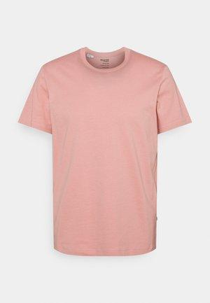 SLHNORMAN O NECK TEE - Basic T-shirt - mellow rose