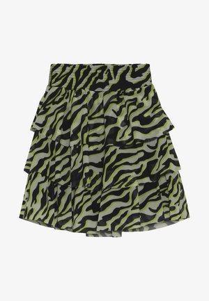 NKFLUCKY SKIRT - A-line skirt - pastel yellow