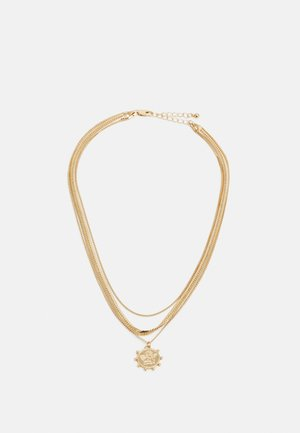 PCSTARINE COMBI NECKLACE - Necklace - gold-coloured