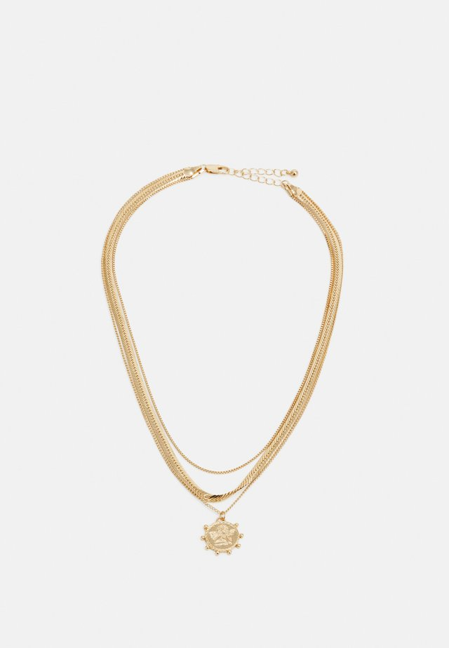 PCSTARINE COMBI NECKLACE - Collana - gold-coloured