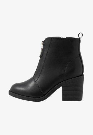 WIDE FIT - Ankelboots - black