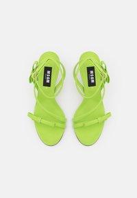 MSGM - HEEL - Sandales - green - 4