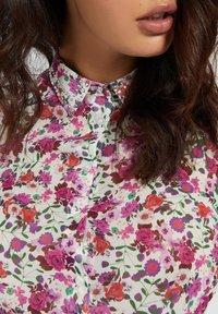 Guess - CLOUIS  - Button-down blouse - mehrfarbe rose - 3