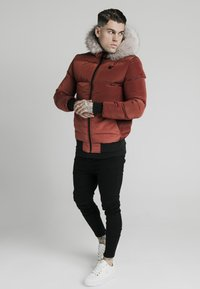 SIKSILK - DISTANCE JACKET - Winterjas - red - 1