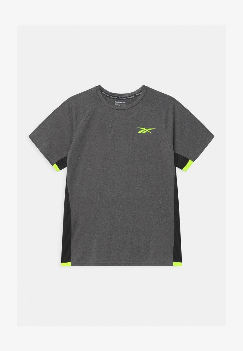 Reebok - CATIONIC UNISEX - Print T-shirt - asphalt