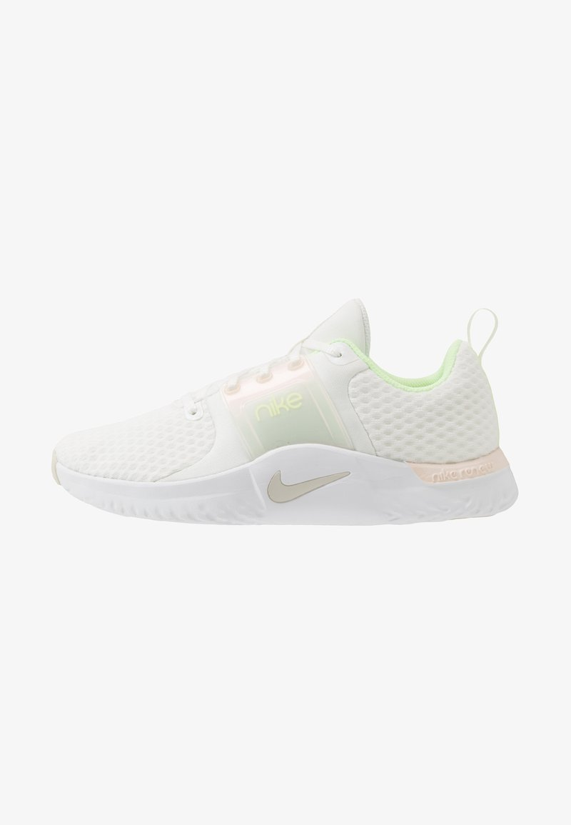 Nike Performance - RENEW IN SEASON TR 10 PRM - Trainings-/Fitnessschuh - summit white/light bone/barely volt