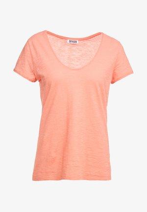 AVIVI - Basic T-shirt - coral