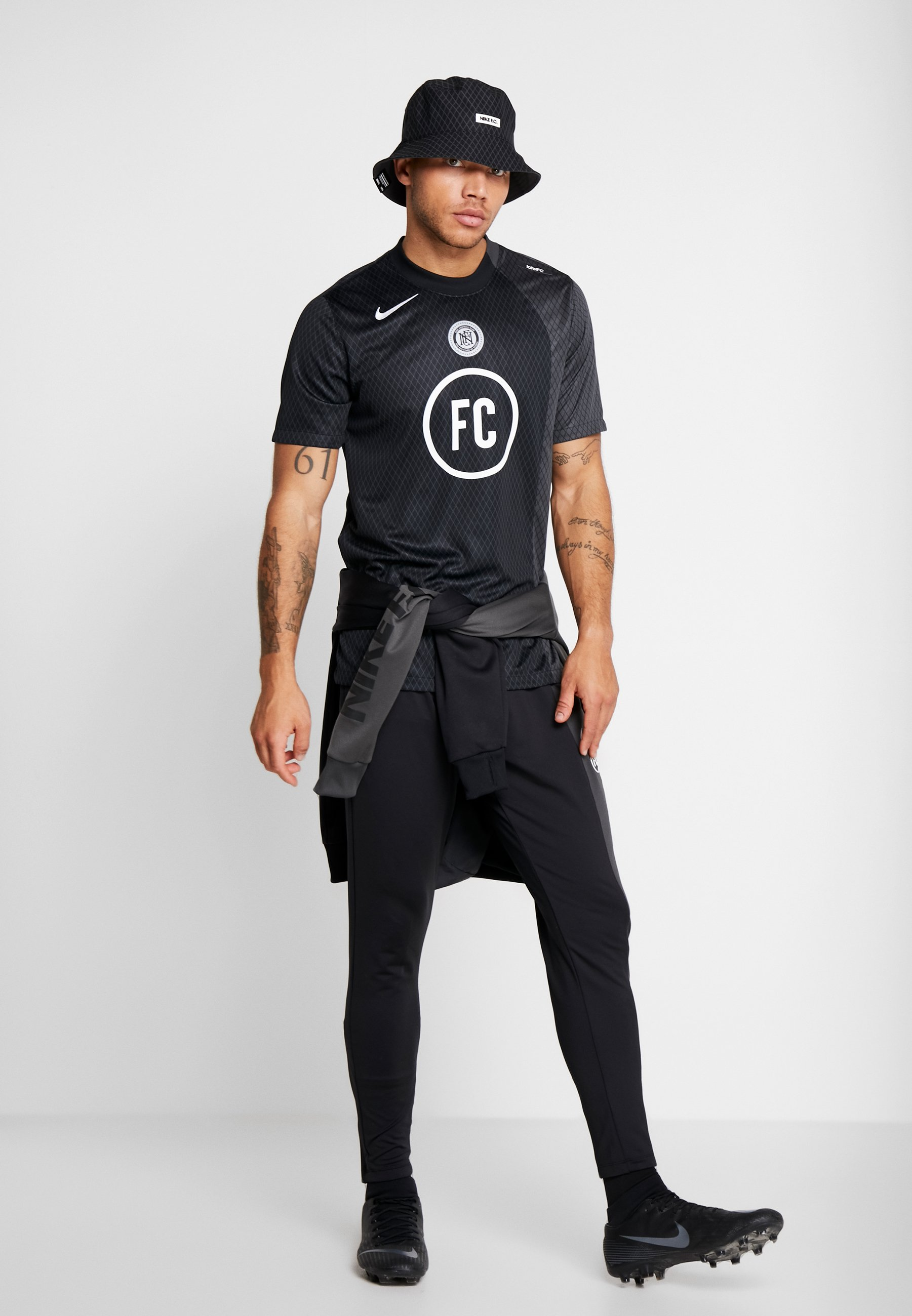 Nike Performance FC PANT - Joggebukse - black/anthracite/white