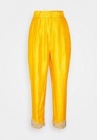 MANÉ - AMARA TROUSERS - Trousers - mustard - 0