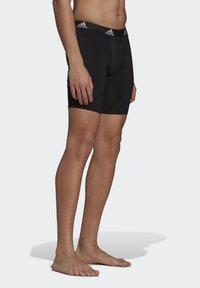 adidas Performance - BRIEF 2 PACK - Pants - black/scarlet - 3