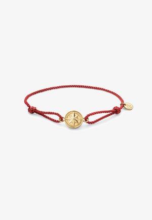 Armband - rot/gold