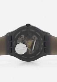 Swatch - BLUR UNSIEX - Watch - black - 3