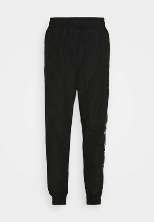 PANT - Trainingsbroek - black/green