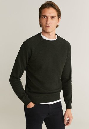 DOUBLE - Pullover - green