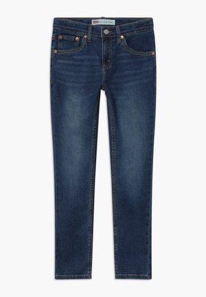 512 SLIM TAPER - Slim fit jeans - dark-blue denim