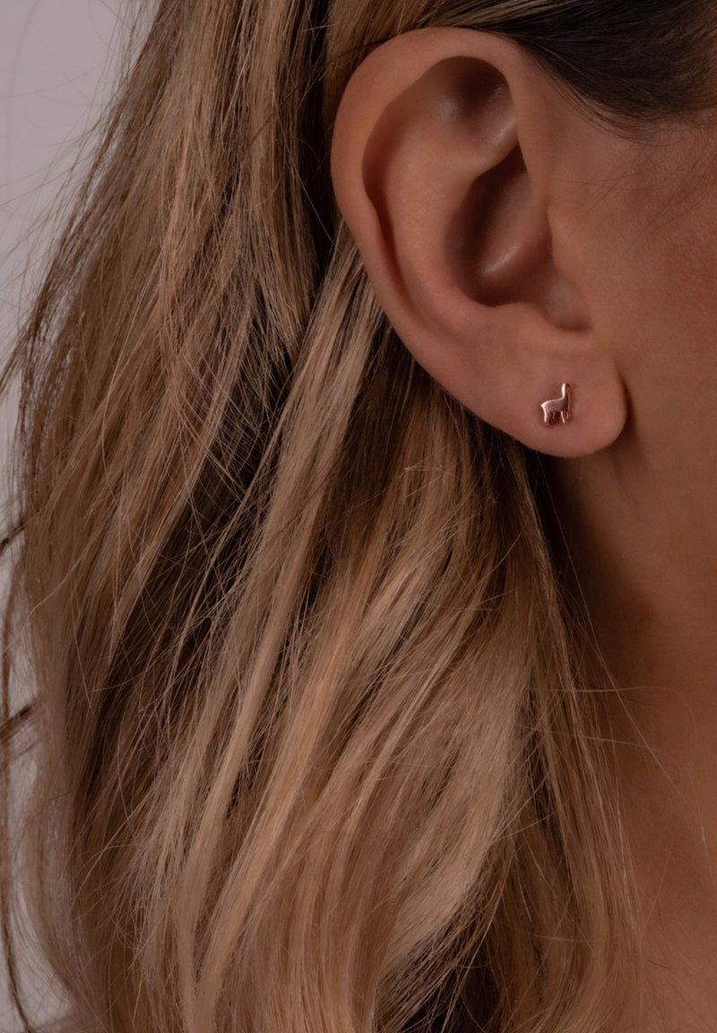 Glanzstücke München - Earrings - roségold